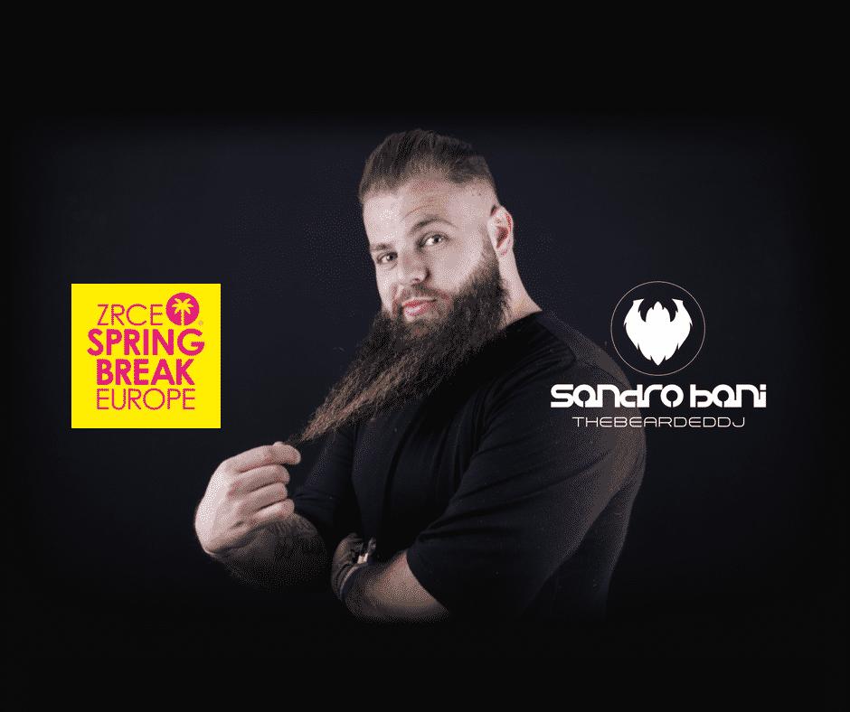 Sandro Bani for Zrce Spring Break Europe 2018