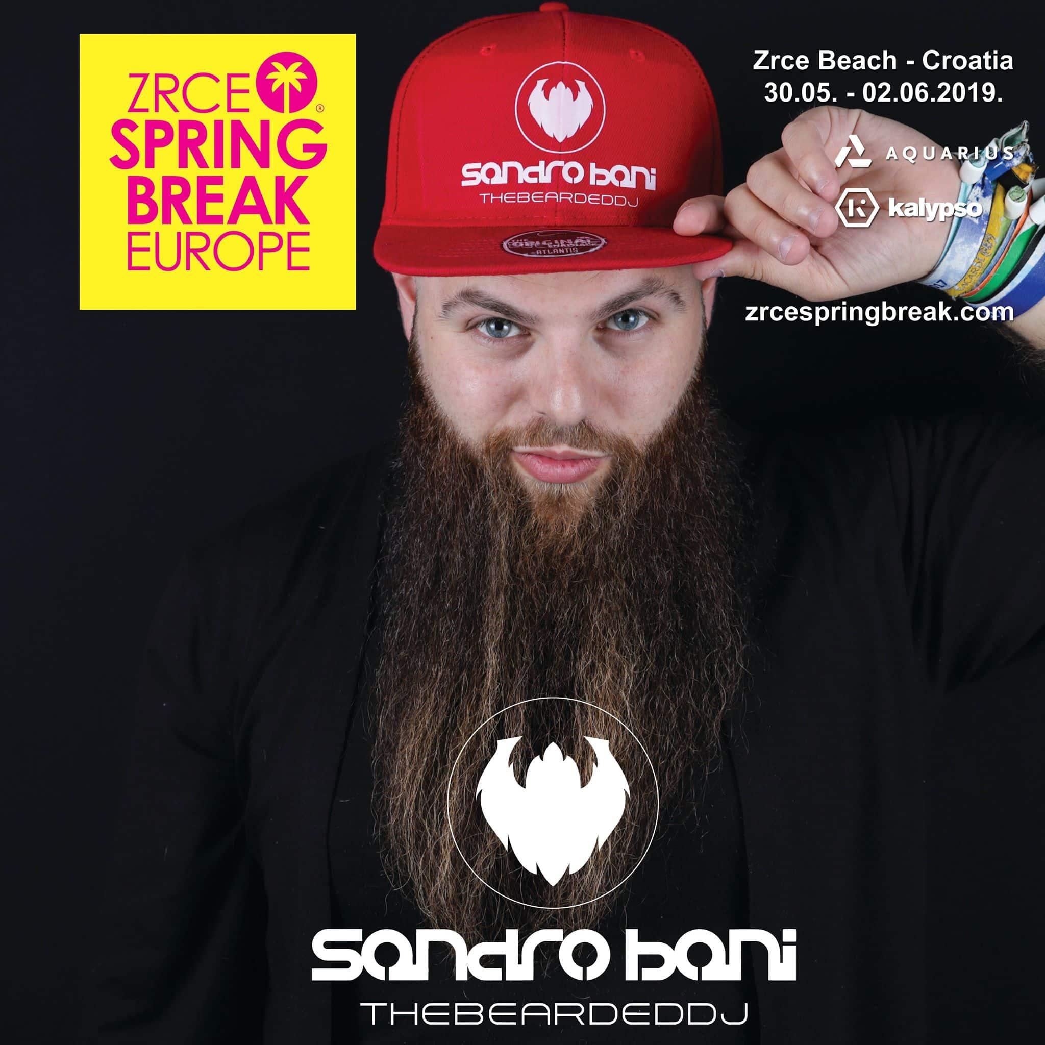 sandro-bani-zrce-spring-break-europe-2019-promo