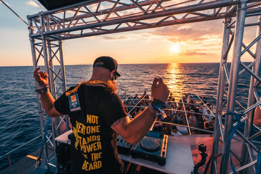 Sandro Bani Zrce Spring Break Europe 2019 Boat Party