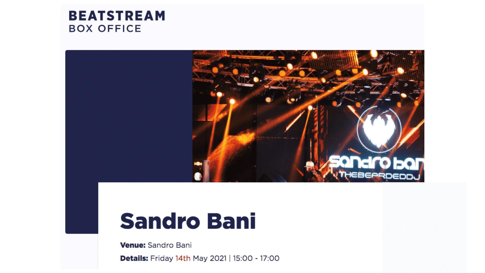 sandro-bani-live-on-beatstream-14-may-2021